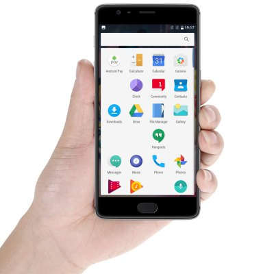 OnePlus 3T 4G PhabletCell phones<br>OnePlus 3T 4G Phablet<br><br>2G: GSM 850/900/1800/1900MHz<br>3G: WCDMA B1/B2/B5/B8<br>4G: FDD-LTE B1/B3/B5/B7/B8<br>Additional Features: NFC, Calculator, Browser, Bluetooth, Alarm, 4G, 3G, Calendar, Fingerprint recognition, Wi-Fi, People, MP4, MP3, Light Sensing, GPS, Fingerprint Unlocking<br>Aperture: f/2.0<br>Auto Focus: Yes<br>Back-camera: 16MP 1.12 µm with flash light and AF<br>Battery Capacity (mAh): 3400mAh<br>Battery Type: Non-removable<br>Bluetooth Version: Bluetooth V4.2<br>Brand: ONEPLUS<br>Camera Feature: HQ,  Manual Control,  Dynamic Denoise, Auto-HDR<br>Camera Functions: Panorama Shot, Anti Shake, HDR<br>Camera type: Dual cameras (one front one back)<br>CDMA: CDMA EVDO?BC0<br>Cell Phone: 1<br>Cores: 1.6GHz, Quad Core, 2.35GHz<br>CPU: Qualcomm Snapdragon 821<br>E-book format: TXT<br>External Memory: Not Supported<br>Flashlight: Yes<br>Front camera: 16MP 1.0 µm<br>Games: Android APK<br>Google Play Store: Yes<br>GPU: Adreno 530<br>I/O Interface: Type-C, 3.5mm Audio Out Port, 2 x Nano SIM Slot<br>Language: Malay, Catalan, Czech, Danish, German, English, Spanish, Filipino, French, Croatian, Italian, Hungarian, Dutch, Norwegian Bokmal, Polish, Portuguese, Romanian, Slovak, Slovenian, Finnish, Swedish, Vie<br>Music format: OGG, MP3, WAV, AAC<br>Network type: GSM+CDMA+WCDMA+TD-SCDMA+FDD-LTE+TDD-LTE<br>OS: OxygenOS<br>Package size: 18.90 x 10.60 x 6.50 cm / 7.44 x 4.17 x 2.56 inches<br>Package weight: 0.4800 kg<br>Picture format: BMP, GIF, JPEG, PNG<br>Pixels Per Inch (PPI): 401<br>Power Adapter: 1<br>Product size: 15.27 x 7.47 x 0.74 cm / 6.01 x 2.94 x 0.29 inches<br>Product weight: 0.1580 kg<br>RAM: 6GB RAM<br>ROM: 64GB<br>Screen resolution: 1920 x 1080 (FHD)<br>Screen size: 5.5 inch<br>Screen type: Corning Gorilla Glass<br>Sensor: Accelerometer,E-Compass,Gravity Sensor,Gyroscope,Hall Sensor,Proximity Sensor<br>Service Provider: Unlocked<br>SIM Card Slot: Dual SIM, Dual Standby<br>SIM Card Type: Dual Nano SIM<br>SIM Needle: 