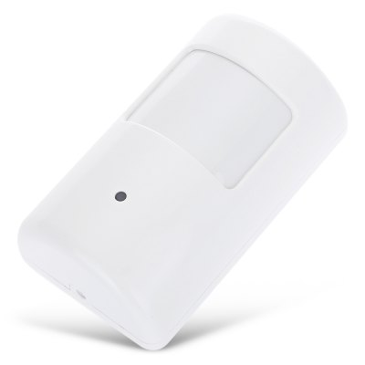 S - PD01 868MHz Wireless PIR Motion Detector Infrared SensorAlarm Systems<br>S - PD01 868MHz Wireless PIR Motion Detector Infrared Sensor<br><br>Color: White<br>Material: Plastic<br>Model: S - PD01<br>Package Contents: 1 x PIR Motion Detector, 1 x Wall Bracket, 3 x Screw, 2 x Screw Cap, 1 x English User Manual<br>Package size (L x W x H): 13.00 x 7.00 x 5.00 cm / 5.12 x 2.76 x 1.97 inches<br>Package weight: 0.1280 kg<br>Product size (L x W x H): 9.00 x 5.50 x 4.00 cm / 3.54 x 2.17 x 1.57 inches<br>Product weight: 0.0810 kg
