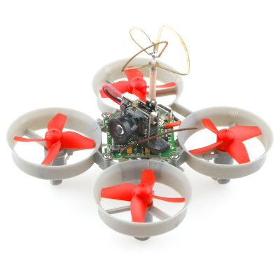 FuriBee F36S Mini Brushed FPV Racing Drone DIY Kit - BNFMicro Brushed Racer<br>FuriBee F36S Mini Brushed FPV Racing Drone DIY Kit - BNF<br><br>Brand: FuriBee<br>CW / CCW: CCW,CW<br>Flight Controller Type: F3<br>Model: 615<br>Motor Type: Brushed Motor<br>Package Contents: 1 x Frame, 8 x Propeller, 4 x Motor, 1 x Flight Controller ( with Integrated Receiver ), 1 x FPV Camera, 1 x Propeller Puller, 1 x USB Connector for Charging, 2 x Cable, 1 x Pack of Accessories<br>Package size (L x W x H): 14.00 x 9.00 x 11.00 cm / 5.51 x 3.54 x 4.33 inches<br>Package weight: 0.2200 kg<br>Product size (L x W x H): 8.25 x 8.25 x 2.40 cm / 3.25 x 3.25 x 0.94 inches<br>Product weight: 0.0250 kg<br>Sensor: CMOS<br>Type: Frame Kit<br>Version: BNF<br>Video Resolution: 800TVL ( horizontal resolution )<br>Video Standards: NTSC,PAL