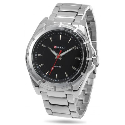 CURREN 8112 Business Men Quartz Watch Stainless Steel Strap