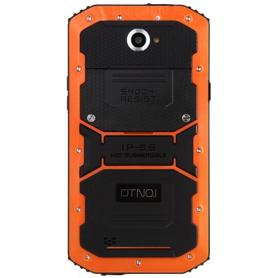 DTNO.I X3 4G PhabletCell phones<br>DTNO.I X3 4G Phablet<br><br>2G: GSM 850/900/1800/1900MHz<br>3G: WCDMA 850/900/1900/2100MHz<br>4G: FDD-LTE 800/1800/2100/2600MHz<br>Additional Features: Alarm, Bluetooth, 4G, 3G, Calendar, Camera, FM, Browser, Calculator, Waterproof, GPS, MP3, MP4, People, Wi-Fi<br>Auto Focus: Yes<br>Back camera: 13.0MP, with flash light and AF<br>Battery Capacity (mAh): 4500mAh Built-in<br>Bluetooth Version: V4.0<br>Brand: DTNO.I<br>Camera type: Dual cameras (one front one back)<br>Cell Phone: 1<br>Cores: Quad Core, 1GHz<br>CPU: MTK6735<br>Dustproof: Yes<br>Earphones: 1<br>English Manual : 1<br>External Memory: TF card up to 32GB (not included)<br>Flashlight: Yes<br>Front camera: 5.0MP<br>I/O Interface: Speaker, Micro USB Slot, Micophone, 3.5mm Audio Out Port, 1 x Standard SIM Card Slot, 1 x Micro SIM Card Slot, TF/Micro SD Card Slot<br>IP rating: IP68<br>Language: Multi language<br>Music format: MP3, AAC<br>Network type: FDD-LTE+WCDMA+GSM<br>OS: Android 5.1<br>Other: 1 x Multifunctional Pocket Survival Tool<br>Package size: 20.40 x 12.80 x 6.00 cm / 8.03 x 5.04 x 2.36 inches<br>Package weight: 0.5670 kg<br>Picture format: PNG, BMP, GIF, JPEG<br>Power Adapter: 1<br>Product size: 16.46 x 8.71 x 1.47 cm / 6.48 x 3.43 x 0.58 inches<br>Product weight: 0.2700 kg<br>RAM: 2GB RAM<br>ROM: 16GB<br>Screen Protector: 1<br>Screen resolution: 1280 x 720 (HD 720)<br>Screen size: 5.5 inch<br>Screen type: Capacitive<br>Screwdriver: 1<br>Sensor: Ambient Light Sensor,Gravity Sensor,Proximity Sensor<br>Service Provider: Unlocked<br>SIM Card Slot: Dual Standby, Dual SIM<br>SIM Card Type: Standard SIM Card, Micro SIM Card<br>Touch Focus: Yes<br>Type: 4G Phablet<br>USB Cable: 1<br>Video format: 3GP, MP4<br>Video recording: Yes<br>Waterproof: Yes<br>WIFI: 802.11b/g/n wireless internet<br>Wireless Connectivity: A-GPS, Bluetooth 4.0, 4G, 3G, LTE, GSM, WiFi, GPS