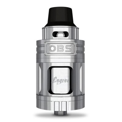 Original OBS Engine Mini RTARebuildable Atomizers<br>Original OBS Engine Mini RTA<br><br>Available Color: Black,Silver<br>Brand: OBS<br>Material: Stainless Steel<br>Model: Engine Mini<br>Overall Diameter: 23mm<br>Package Contents: 1 x OBS Engine Mini RTA, 1 x Extra Glass Tank, 1 x Accessory Bag<br>Package size (L x W x H): 8.00 x 4.80 x 3.50 cm / 3.15 x 1.89 x 1.38 inches<br>Package weight: 0.1550 kg<br>Product size (L x W x H): 5.45 x 2.30 x 2.30 cm / 2.15 x 0.91 x 0.91 inches<br>Product weight: 0.0850 kg<br>Rebuildable Atomizer: RBA,RTA<br>Tank Capacity: 3.5ml<br>Thread: 510<br>Type: Rebuildable Tanks, Rebuildable Atomizer