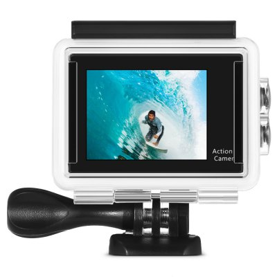 H9 Ultra HD 4K 1080P Action CameraAction Cameras<br>H9 Ultra HD 4K 1080P Action Camera<br><br>Aerial Photography: No<br>Anti-shake: No<br>Auto Focusing: No<br>Battery Type: Removable<br>Camera Pixel : 4.0 megapixel<br>Camera Timer: No<br>Capacity: 1050mAh<br>Charge way: USB charge by PC<br>Chipset: Sunplus 6350<br>Chipset Name: Sunplus<br>Class Rating Requirements: Class 10 or Above<br>Decode Format: H.264<br>Exposure Compensation: +0.3,+0.7,+1,+1.3,+1.7,+2,-0.3,-0.7,-1,-1.3,-1.7,-2,0<br>Frequency: 50Hz,60Hz,Auto<br>HDMI Output: Yes<br>Image Format : JPEG<br>Language: Cesky,Dutch,English,French,German,Italian,Japanese,Korean,Polski,Portuguese,Russian,Spanish,Thai,Traditional Chinese,Turkish<br>Loop-cycle Recording : Yes<br>Loop-cycle Recording Time: 15min,OFF<br>Max External Card Supported: TF 64G (not included)<br>Microphone: N/A<br>Model: H9<br>Night vision : No<br>Package Contents: 1 x H9 4K Action Camera, 1 x Waterproof Housing, 1 x Handlebar Pole Mount, 1 x Base Mount with Long Screw, 1 x J-Shaped Mount, 1 x Tripod Mount Adapter, 3 x Connector with Screw, 1 x Mount Adapter, 1<br>Package size (L x W x H): 27.00 x 18.00 x 7.00 cm / 10.63 x 7.09 x 2.76 inches<br>Package weight: 0.5700 kg<br>Product size (L x W x H): 6.00 x 3.20 x 4.10 cm / 2.36 x 1.26 x 1.61 inches<br>Product weight: 0.0650 kg<br>Scene: Auto<br>Screen resolution: 320x240<br>Screen size: 2.0inch<br>Screen type: LCD<br>Time lapse: Yes<br>Time Stamp: Yes<br>Type: Sports Camera<br>Video format: MOV<br>Video Output : HDMI<br>Video Resolution: 1080P (1920 x 1080),2.7K (2704 x 1524),4K (4096 x 2160)<br>Water Resistant: 30m underwater<br>Waterproof: Yes<br>White Balance Mode: Auto<br>Wide Angle: 170 degree wide angle<br>WIFI: Yes<br>WiFi Distance : 10m<br>WiFi Function: Image Transmission,Remote Control,Settings,Sync and Sharing Albums<br>Working Time: 1.5 hours (1080P at 30fps), 1 hour (1080P at 60fps), 40 minutes (4K at 10fps)