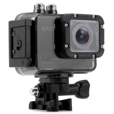 S800 4K 4MP App Ishare WiFi Sports Action CameraAction Cameras<br>S800 4K 4MP App Ishare WiFi Sports Action Camera<br><br>Audio System: Built-in microphone/speacker (AAC)<br>Battery Type: Removable<br>Camera Pixel : 4MP<br>Capacity: 1000mAh<br>Charge way: USB charge by PC<br>Chipset: Sunplus 6350<br>Chipset Name: Sunplus<br>Class Rating Requirements: Class 10 or Above<br>Features: Wireless<br>Function: Loop-cycle Recording, Motion Detection<br>HDMI Output: Yes<br>Image Format : JPEG<br>Interface Type: SD Card Slot, HDMI, Mini USB<br>Loop-cycle Recording : Yes<br>Loop-cycle Recording Time: 2min,3min,5min<br>Max External Card Supported: SD 32G (not included)<br>Model: S800<br>Motion Detection: Yes<br>Package Contents: 1 x Action Camera with Waterproof Housing, 1 x 2.0 inch External Screen, 1 x 1100mAh External Battery, 1 x 2.4G WiFi Remote Controller, 1 x USB Cable, 2 x Waterproof Housing Back Cover, 2 x Short Scre<br>Package size (L x W x H): 22.00 x 11.70 x 23.00 cm / 8.66 x 4.61 x 9.06 inches<br>Package weight: 0.8820 kg<br>Product size (L x W x H): 6.00 x 3.00 x 4.20 cm / 2.36 x 1.18 x 1.65 inches<br>Product weight: 0.0630 kg<br>Screen size: 2.0inch<br>Screen type: LCD<br>Type: Full HD Dashcam, Sports Camera<br>USB Function: PC-Camera, USB-Disk<br>Video format: MOV<br>Video Output : HDMI<br>Video Resolution: 1080P (1920 x 1080),4K (3840 x 2160),720P (1280 x 720)<br>Video System: NTSC,PAL<br>Wide Angle: 152 degree wide angle lens<br>WIFI: Yes<br>WiFi Distance : 10m<br>WiFi Function: Image Transmission<br>Working Time: 50 minutes for WiFi on / 1 hour for WiFi off