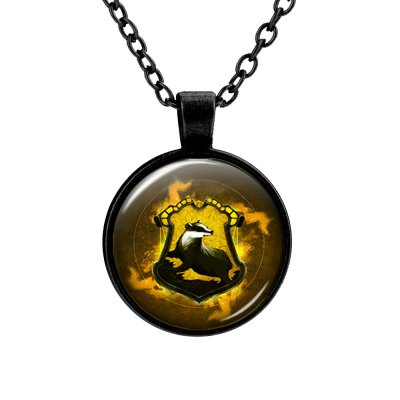 PIECEFUN College Logo Style Cosplay Necklace