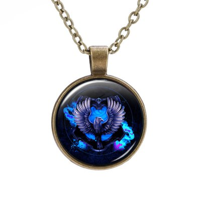 PIECEFUN Alloy College Logo Pattern Cosplay Necklace