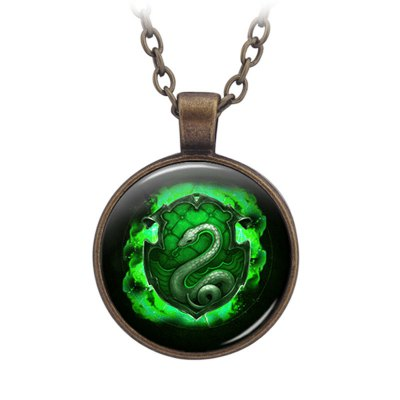 PIECEFUN Alloy College Logo Style Cosplay Necklace