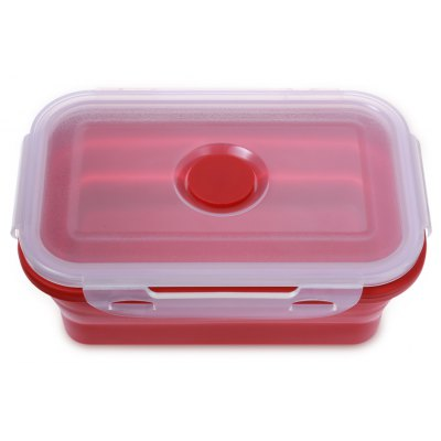 Portable Collapsible Silicone Lunch Box