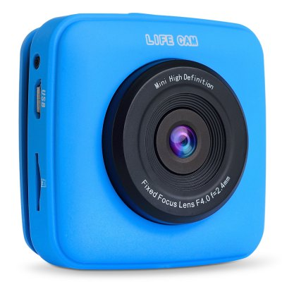 G2 LIFE CAM 720P Pixels Mini Sports Action CameraAction Cameras<br>G2 LIFE CAM 720P Pixels Mini Sports Action Camera<br><br>Audio System: Built-in microphone/speacker (AAC)<br>Battery Type: Built-in<br>Camera Pixel : 1.3MP<br>Capacity (mAh): 400mAh<br>Charge way: USB<br>Chipset: SUI<br>Chipset Name: SUI<br>Class Rating Requirements: Class 10 or Above<br>Image Format : JPG<br>Image resolution: 1M (1280?720)<br>Image Sensor: 1.3MP CMOS<br>Interface Type: SD Card Slot, External storage card slot, Micro USB<br>Language: English<br>Loop-cycle Recording : Yes<br>Max External Card Supported: SD 32G (not included)<br>Model: G2<br>Package Contents: 1 x G2 Action Camera, 1 x 2.4G RF Remote Controller, 1 x USB Cable, 1 x Velcro Fixed Strap, 1 x English User Manual<br>Package size (L x W x H): 24.60 x 17.40 x 4.70 cm / 9.69 x 6.85 x 1.85 inches<br>Package weight: 0.2470 kg<br>Power Supply: Built-in rechargeable battery<br>Product size (L x W x H): 5.70 x 5.50 x 2.60 cm / 2.24 x 2.17 x 1.02 inches<br>Product weight: 0.0500 kg<br>System requirements: Windows 2000 / XP / Vista<br>Type: Sports Camera<br>USB Function: USB-Disk<br>Video format: AVI<br>Video Frame Rate: 30FPS<br>Video Output : AV-Out<br>Video Resolution: 720P (1280 x 720),VGA (640 x 480)<br>Video System: PAL<br>Working Time: 1 hour approx.