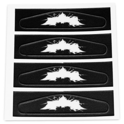4PCS Removeable Decoration Light Bar Sticker for PS4 ControllerGame Controllers<br>4PCS Removeable Decoration Light Bar Sticker for PS4 Controller<br><br>Compatible with: Sony PS4<br>Features: Sticker<br>Package Contents: 4 x Light Bar Sticker<br>Package size: 10.00 x 8.00 x 0.20 cm / 3.94 x 3.15 x 0.08 inches<br>Package weight: 0.010 kg<br>Product size: 8.00 x 6.00 x 0.10 cm / 3.15 x 2.36 x 0.04 inches<br>Product weight: 0.001 kg