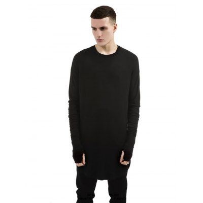 Pure Color Long T Shirts