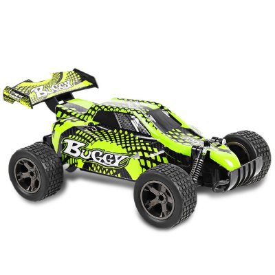 Jule UJ99 - 2810B 2.4GHz 1:18 Brushed RC Car - RTRRC Cars<br>Jule UJ99 - 2810B 2.4GHz 1:18 Brushed RC Car - RTR<br><br>Age: Above 6 years old<br>Brand: Jule<br>Charging Time: 240 minutes<br>Detailed Control Distance: About 50m<br>Drive Type: 2 WD<br>Features: Radio Control<br>Material: Rubber, PVC, Plastic, Electronic Components<br>Motor Type: Brushed Motor<br>Package Contents: 1 x RC Car, 1 x Transmitter, 1 x 4.8V 700mAh NiCd Battery, 1 x USB Charging Cable<br>Package size (L x W x H): 31.50 x 19.50 x 14.50 cm / 12.4 x 7.68 x 5.71 inches<br>Package weight: 0.7400 kg<br>Product size (L x W x H): 22.00 x 15.00 x 10.00 cm / 8.66 x 5.91 x 3.94 inches<br>Product weight: 0.4300 kg<br>Proportion: 1:18<br>Racing Time: About 30mins<br>Remote Control: 2.4GHz Wireless Remote Control<br>Transmitter Power: 2 x 1.5V AA battery (not included)<br>Type: Off-Road Car