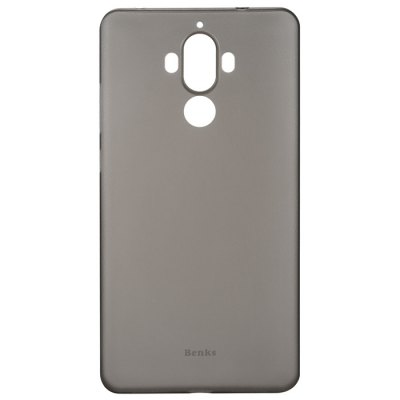 Benks PP Case for HUAWEI Mate 9Cases &amp; Leather<br>Benks PP Case for HUAWEI Mate 9<br><br>Brand: Benks<br>Color: Black,White<br>Compatible Model: Mate 9<br>Features: Anti-knock, Back Cover<br>Mainly Compatible with: HUAWEI<br>Material: PP<br>Package Contents: 1 x Phone Case<br>Package size (L x W x H): 22.30 x 11.70 x 2.50 cm / 8.78 x 4.61 x 0.98 inches<br>Package weight: 0.0630 kg<br>Product Size(L x W x H): 15.80 x 8.00 x 0.80 cm / 6.22 x 3.15 x 0.31 inches<br>Product weight: 0.0060 kg<br>Style: Transparent