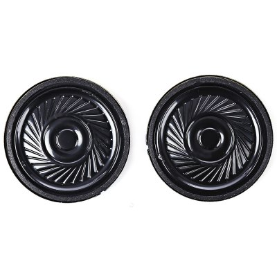 2PCS 8 Ohm 0.5W 35mm DIY Mini Round SpeakerDIY Parts &amp; Components<br>2PCS 8 Ohm 0.5W 35mm DIY Mini Round Speaker<br><br>Package Contents: 2 x Small Round Speaker<br>Package Size(L x W x H): 8.00 x 6.00 x 2.00 cm / 3.15 x 2.36 x 0.79 inches<br>Package weight: 0.0400 kg<br>Product Size(L x W x H): 3.50 x 3.50 x 0.60 cm / 1.38 x 1.38 x 0.24 inches<br>Product weight: 0.0200 kg<br>Type: Other
