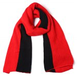 2 in 1 Warm Scarf Knitted Shawl Wrap for Women