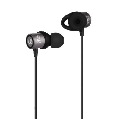 GEVO GV3 Music In-ear EarphonesEarbud Headphones<br>GEVO GV3 Music In-ear Earphones<br><br>Application: For iPod, Sport, Portable Media Player, Mobile phone, Computer<br>Brand: GEVO<br>Cable Length (m): 1.2m<br>Compatible with: Computer<br>Connecting interface: 3.5mm<br>Connectivity: Wired<br>Driver unit: 10mm<br>Frequency response: 20-20000Hz<br>Function: Answering Phone, Microphone, Voice control, Song Switching, Noise Cancelling<br>Impedance: 16ohms<br>Language: No<br>Material: Metal<br>Model: GV3<br>Package Contents: 1 x GEVO GV3 Music In-ear Earphones, 1 x Clamp, 3 x Pair of Standby Earbud Tips, 2 x Pair of Standby Earbud Pads, 1 x Cloth Pouch Bag<br>Package size (L x W x H): 14.50 x 10.50 x 4.50 cm / 5.71 x 4.13 x 1.77 inches<br>Package weight: 0.1110 kg<br>Product weight: 0.0160 kg<br>Sensitivity: 95 ± 3 dB<br>Type: In-Ear<br>Wearing type: In-Ear