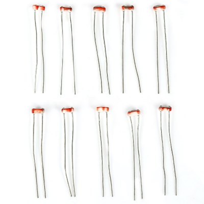 10PCS Electronic Component Photoresistor for DIY Project