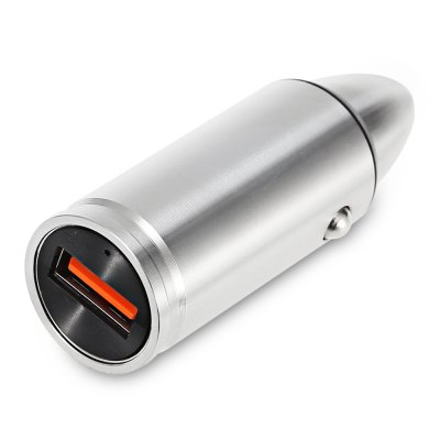 Tuopoda CC102 Stainless Steel Car ChargerCar Charger<br>Tuopoda CC102 Stainless Steel Car Charger<br><br>Apply To Car Brand: Universal<br>Brand: TUOPODA<br>Color: Silver<br>Input ( Car Charger ): DC 12V - 24V<br>Model: CC102<br>Output ( Car Charger ): 3.6 - 6.5V / 3A  6.5 - 9V / 2A  9 - 12V / 1.5A<br>Package Contents: 1 x Tuopoda CC102 Stainless Steel Car Charger, 1 x Stainless Steel Box<br>Package size (L x W x H): 12.00 x 9.00 x 2.30 cm / 4.72 x 3.54 x 0.91 inches<br>Package weight: 0.1166 kg<br>Product size (L x W x H): 6.30 x 2.10 x 2.10 cm / 2.48 x 0.83 x 0.83 inches<br>Product weight: 0.0400 kg<br>Working Temp.(?): 0 Deg.C - 40 Deg.C
