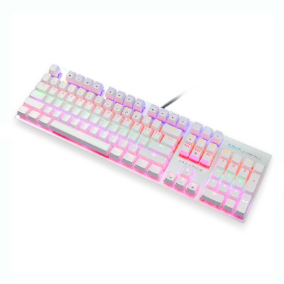 E - 3LUE K753 Mechanical Keyboard for GamingKeyboards<br>E - 3LUE K753 Mechanical Keyboard for Gaming<br><br>Anti-ghosting Number: 104<br>Backlight Type: Colorful light<br>Bluetooth Version: Not Supported<br>Brand: E - 3LUE<br>Cable Length (m): 1.6m<br>Connection: Wired<br>Features: Gaming<br>Interface: USB 2.0<br>Key Number: 104<br>Keyboard Lifespan ( times): 50 million<br>Keyboard Switch Type: Blue Switch<br>Keyboard Type: Mechanical Keyboard<br>Material: ABS<br>Model: K753<br>Package Contents: 1 x E - 3LUE K753 Mechanical Keyboard<br>Package size (L x W x H): 48.00 x 18.00 x 6.00 cm / 18.9 x 7.09 x 2.36 inches<br>Package weight: 1.4210 kg<br>Product weight: 0.8220 kg<br>Response Speed: 3ms<br>Type: Keyboard