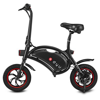 F - wheel DYU Electric BikeBikes<br>F - wheel DYU Electric Bike<br><br>Braking System: Rear Disc Brake<br>Brand: F-wheel<br>Color: Black,White<br>Package Content: 1 x F - wheel DYU Electric Bike, 1 x Charger, 1 x English User Manual<br>Package size: 109.00 x 25.00 x 77.00 cm / 42.91 x 9.84 x 30.31 inches<br>Package weight: 12.5500 kg<br>Product size: 108.00 x 50.50 x 97.00 cm / 42.52 x 19.88 x 38.19 inches<br>Product weight: 12.0000 kg<br>Type: Electric Bicycle<br>Wheel Size: 12 inches