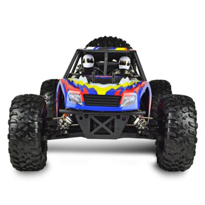 VRX Racing RH1045 1:10 Brushless RC Truck - RTRRC Cars<br>VRX Racing RH1045 1:10 Brushless RC Truck - RTR<br><br>Brand: VRX Racing<br>Car Power: Built-in rechargeable battery<br>Channel: 2-Channels<br>Charging Time: 180 minutes<br>Detailed Control Distance: 100-150m<br>Drive Type: 4 WD<br>Features: Radio Control<br>Motor Type: Brushless Motor<br>Package Contents: 1 x RC Truck, 1 x Transmitter, 1 x Balance Charger, 1 x English Manual<br>Package size (L x W x H): 66.00 x 23.00 x 31.00 cm / 25.98 x 9.06 x 12.2 inches<br>Package weight: 4.5500 kg<br>Product size (L x W x H): 50.00 x 30.00 x 22.00 cm / 19.69 x 11.81 x 8.66 inches<br>Product weight: 2.8700 kg<br>Proportion: 1:10<br>Racing Time: About 25mins<br>Remote Control: 2.4GHz Wireless Remote Control<br>Transmitter Power: 8 x 1.5V AA batteries( not included)<br>Type: Desert Truck