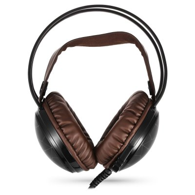 JINDUN K5 Stereo Gaming HeadsetEarbud Headphones<br>JINDUN K5 Stereo Gaming Headset<br><br>Application: Computer<br>Brand: JINDUN<br>Cable Length (m): 2.2m<br>Compatible with: Computer<br>Connecting interface: Mini USB, 3.5mm<br>Connectivity: Wired<br>Driver unit: 50mm<br>Frequency response: 20-20000Hz<br>Function: Voice control, Microphone, Noise Cancelling, Sweatproof<br>Impedance: 32ohms<br>Language: No<br>Material: ABS<br>Model: K5<br>Package Contents: 1 x JINDUN K5 Gaming Headset, 1 x Multilingual Manual ( English, Chinese, Japanese, Italian...and so on )<br>Package size (L x W x H): 22.50 x 19.00 x 11.50 cm / 8.86 x 7.48 x 4.53 inches<br>Package weight: 0.4620 kg<br>Product size (L x W x H): 19.00 x 18.00 x 9.50 cm / 7.48 x 7.09 x 3.74 inches<br>Product weight: 0.3020 kg<br>Wearing type: Headband