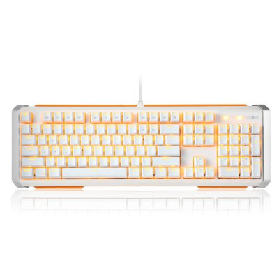 JamesDonkey 612 Mechanical Keyboard 104 Keys for Gaming