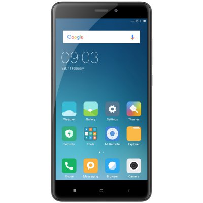 Xiaomi Redmi Note 4 4G PhabletCell phones<br>Xiaomi Redmi Note 4 4G Phablet<br><br>2G: GSM B2/B3/B5/B8<br>3G: WCDMA B1/B2/B5/B8<br>4G: FDD-LTE B1/3/4/5/7/8/20<br>Additional Features: Fingerprint recognition, Calendar, Browser, Bluetooth, Alarm, 4G, 3G, Fingerprint Unlocking, Calculator, Wi-Fi, Proximity Sensing, MP4, MP3, Gravity Sensing, GPS<br>Auto Focus: Yes<br>Back camera: with flash light and AF, 13.0MP<br>Battery Capacity (mAh): 4100mAh<br>Battery Type: Lithium-ion Polymer Battery, Non-removable<br>Bluetooth Version: Bluetooth V4.2<br>Brand: Xiaomi<br>Camera type: Dual cameras (one front one back)<br>Cell Phone: 1<br>Cores: 2.0GHz, Octa Core<br>CPU: Qualcomm Snapdragon 625 (MSM8953)<br>External Memory: TF card up to 128GB (not included)<br>Flashlight: Yes<br>Front camera: 5.0MP<br>Games: Android APK<br>GPU: Adreno 506<br>I/O Interface: Micophone, Speaker, Micro USB Slot, 1 x Nano SIM Card Slot, 1 x Micro SIM Card Slot, TF/Micro SD Card Slot, 3.5mm Audio Out Port<br>Language: Indonesian, Malay, German, English, Spanish, French, Italian, Hungarian, Uzbek, Polish, Portuguese, Romanian, Slovenian,  Vietnamese, Turkish, Czech, Russian, Ukrainian, Greek, Hindi, Marathi, Bengali<br>Music format: AAC, MP3<br>Network type: GSM+WCDMA+FDD-LTE+TD-LTE<br>Optional Version: 3GB RAM + 32GB ROM / 3GB RAM + 64GB ROM<br>OS: Android 6.0<br>Package size: 17.00 x 9.70 x 5.00 cm / 6.69 x 3.82 x 1.97 inches<br>Package weight: 0.3580 kg<br>Picture format: BMP, GIF, JPEG, PNG<br>Power Adapter: 1<br>Product size: 15.10 x 7.60 x 0.85 cm / 5.94 x 2.99 x 0.33 inches<br>Product weight: 0.1710 kg<br>Screen resolution: 1920 x 1080 (FHD)<br>Screen size: 5.5 inch<br>Screen type: Capacitive<br>Sensor: Accelerometer,Ambient Light Sensor,Gravity Sensor,Gyroscope,Infrared,Proximity Sensor<br>Service Provider: Unlocked<br>SIM Card Slot: Dual SIM, Dual Standby<br>SIM Card Type: Nano SIM Card, Micro SIM Card<br>SIM Needle: 1<br>TDD/TD-LTE: TD-LTE B38/B40<br>Touch Focus: Yes<br>Type: 4G Phablet<br>USB Cable: 1<br>Video format: MKV, M4A, MP4, 3GP<br>WIFI: 802.11a/b/g/n/ac wireless internet<br>Wireless Connectivity: GPS, GSM, Bluetooth, 4G, 3G, WiFi