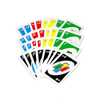 Educational paper card family desktop toy