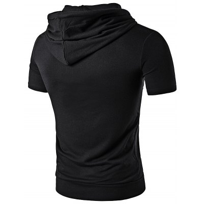 WHATLEES Extended Hoodie Men T ShirtMens Short Sleeve Tees<br>WHATLEES Extended Hoodie Men T Shirt<br><br>Brand: WHATLEES<br>Color: Black,Blue,Light Gray,Red,White<br>Material: Cotton<br>Package Content: 1 x T Shirt<br>Package size: 40.00 x 30.00 x 2.00 cm / 15.75 x 11.81 x 0.79 inches<br>Package weight: 0.3400 kg<br>Product weight: 0.3000 kg<br>Season: Autumn, Winter, Summer, Spring<br>Size: L,M,S,XL,XXL<br>Sleeve Length: Short Sleeves<br>Style: Casual