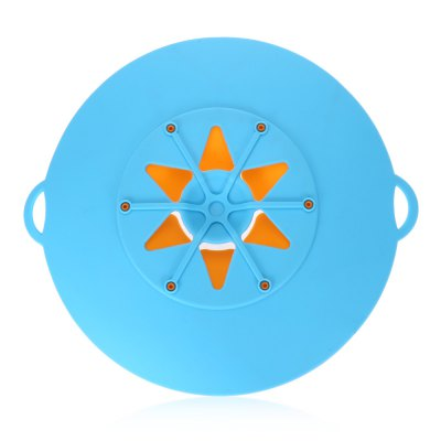 Kitchen Silicone Anti-spill Pan Lid Pot Cover