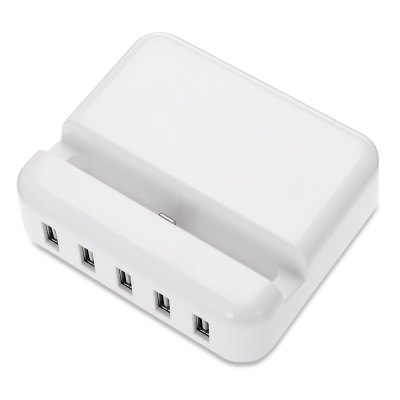 30W High Power Charging Dock Base with 5 USB Port