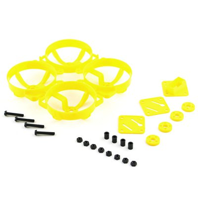 KingKong Doinker 80 80mm Plastic Frame KitRacing Frame<br>KingKong Doinker 80 80mm Plastic Frame Kit<br><br>Brand: KingKong<br>Package Contents: 1 x Frame Kit, 1 x Pack of Fittings<br>Package size (L x W x H): 15.00 x 15.00 x 6.00 cm / 5.91 x 5.91 x 2.36 inches<br>Package weight: 0.1140 kg<br>Product size (L x W x H): 12.50 x 12.50 x 5.00 cm / 4.92 x 4.92 x 1.97 inches<br>Product weight: 0.0165 kg<br>Type: Frame Kit