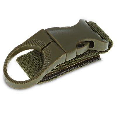 JINJULI Water Bottle HangerOther Camping Gadgets<br>JINJULI Water Bottle Hanger<br><br>Brand: JINJULI<br>Color: Army green,Black,Khaki<br>Package Contents: 1 x JINJULI Water Bottle Hanger<br>Package size (L x W x H): 10.00 x 5.00 x 3.00 cm / 3.94 x 1.97 x 1.18 inches<br>Package weight: 0.0430 kg<br>Product size (L x W x H): 14.50 x 3.50 x 1.00 cm / 5.71 x 1.38 x 0.39 inches<br>Product weight: 0.0200 kg<br>Season: All seasons