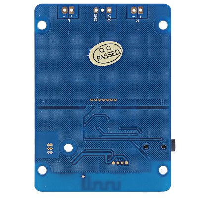 LDTR - WG0069 TPA3118 Bluetooth Digital Amplifier BoardOther Accessories<br>LDTR - WG0069 TPA3118 Bluetooth Digital Amplifier Board<br><br>Color: Blue<br>Material: Mental<br>Package Contents: 1 x Amplifier Board<br>Package Size(L x W x H): 9.10 x 7.10 x 3.20 cm / 3.58 x 2.8 x 1.26 inches<br>Package weight: 0.0750 kg<br>Product Size(L x W x H): 7.10 x 5.10 x 1.20 cm / 2.8 x 2.01 x 0.47 inches<br>Product weight: 0.0470 kg