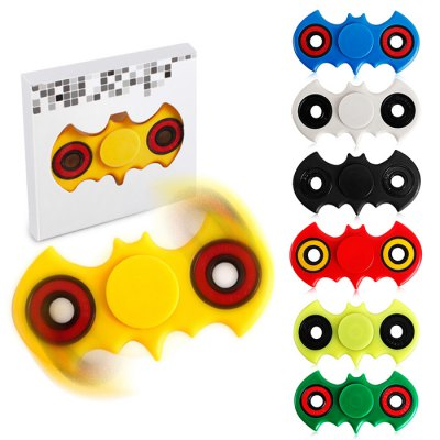 Bat Hand Spinner Fidget ToyFidget Spinners<br>Bat Hand Spinner Fidget Toy<br><br>Center Bearing Material: Stainless Steel Bearing<br>Color: Black,Blue,Green,Red,White,Yellow,Yellow Green<br>Features: Detachable<br>Frame material: ABS<br>Package Contents: 1 x Gyro<br>Package size (L x W x H): 9.00 x 9.00 x 2.00 cm / 3.54 x 3.54 x 0.79 inches<br>Package weight: 0.0550 kg<br>Product size (L x W x H): 4.20 x 8.10 x 0.70 cm / 1.65 x 3.19 x 0.28 inches<br>Product weight: 0.0350 kg<br>Swing Numbers: 2<br>Type: Dual Blade, Anime