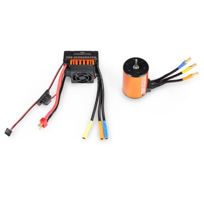 3650 4300KV Brushless Motor + 60A ESC