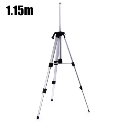 1.15m Foldable Elevator TripodOther Instruments<br>1.15m Foldable Elevator Tripod<br><br>Material: Aluminum Alloy<br>Package Contents: 1 x 1.15m Foldable Elevator Tripod, 1 x Bag<br>Package size: 46.00 x 10.00 x 10.00 cm / 18.11 x 3.94 x 3.94 inches<br>Package weight: 0.7120 kg<br>Primary functions: Laser Level Work<br>Product size: 43.50 x 8.00 x 8.00 cm / 17.13 x 3.15 x 3.15 inches<br>Product weight: 0.5730 kg<br>Scope of application: Industrial<br>Type: Measuring tools<br>Working Height: 46cm - 115cm