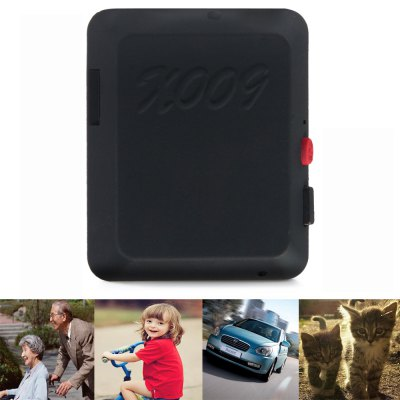 Mini X009 Wireless GSM Tracker Locator 2MP Remote Monitoring Localizer for Cars Kids Elder Pets