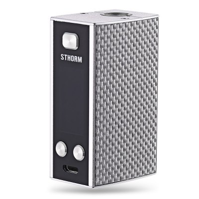 Original EHpro Sthorm 50W Mod with 1500mAhTemperature Control Mods<br>Original EHpro Sthorm 50W Mod with 1500mAh<br><br>Accessories type: MOD<br>APV Mod Wattage: 50W<br>APV Mod Wattage Range: 31-50W<br>Battery Capacity: 1500mAh<br>Brand: EHPro<br>Material: Zinc Alloy<br>Mod: Temperature Control Mod,VV/VW Mod<br>Model: Sthorm<br>Package Contents: 1 x EHpro Sthorm Mod, 1 x English User Manual, 1 x USB Cable<br>Package size (L x W x H): 8.40 x 10.90 x 3.50 cm / 3.31 x 4.29 x 1.38 inches<br>Package weight: 0.1890 kg<br>Product size (L x W x H): 3.20 x 2.30 x 5.50 cm / 1.26 x 0.91 x 2.17 inches<br>Product weight: 0.0820 kg<br>Temperature Control Range: 100 - 300 Deg.C / 200 - 600 Deg.F<br>Type: Electronic Cigarettes Accessories