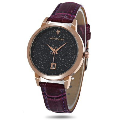 Sanda P194 Starry Dial Women Quartz Watch