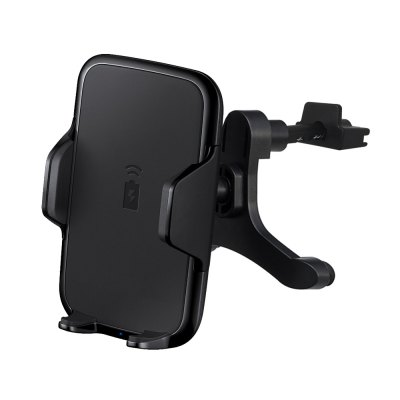 Car Phone Stand Wireless ChargerChargers &amp; Cables<br>Car Phone Stand Wireless Charger<br><br>Charging efficiency: 85 percent<br>Color: Black<br>Connection Type: Micro USB<br>Input: 5V 2A<br>Material: ABS, Silicone<br>Output: 5V 1.5A<br>Package Contents: 1 x Bracket, 1 x Clip Holder, 1 x USB Cable<br>Package size (L x W x H): 10.50 x 9.30 x 15.20 cm / 4.13 x 3.66 x 5.98 inches<br>Package weight: 0.2120 kg<br>Product size (L x W x H): 11.50 x 9.50 x 11.50 cm / 4.53 x 3.74 x 4.53 inches<br>Product weight: 0.1280 kg<br>Type: Wireless Charger Launcher<br>Wireless transmission distance: Less than 5mm