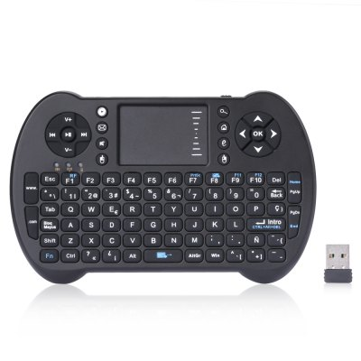 VIBOTON S501 Mini 2.4GHz Wireless QWERTY Keyboard