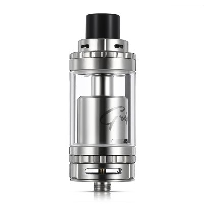 Original GeekVape Griffin 25 Plus RTA AtomizerRebuildable Atomizers<br>Original GeekVape Griffin 25 Plus RTA Atomizer<br><br>Available Color: Black,Silver<br>Brand: Geekvape<br>Coil Quantity: Dual coil,Single coil<br>Material: Glass, Stainless Steel<br>Model: Griffin 25 Plus<br>Overall Diameter: 25mm<br>Package Contents: 1 x GeekVape Griffin 25 Plus RTA Atomizer<br>Package size (L x W x H): 12.00 x 7.00 x 4.00 cm / 4.72 x 2.76 x 1.57 inches<br>Package weight: 0.210 kg<br>Product size (L x W x H): 2.50 x 2.50 x 6.45 cm / 0.98 x 0.98 x 2.54 inches<br>Product weight: 0.080 kg<br>Rebuildable Atomizer: RBA,RTA<br>Tank Capacity: 5.0ml<br>Thread: 510<br>Type: Rebuildable Tanks, Rebuildable Atomizer