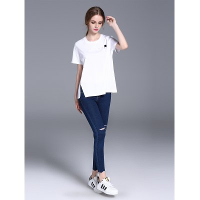 Frmz loose short sleeve women cotton t-shirt