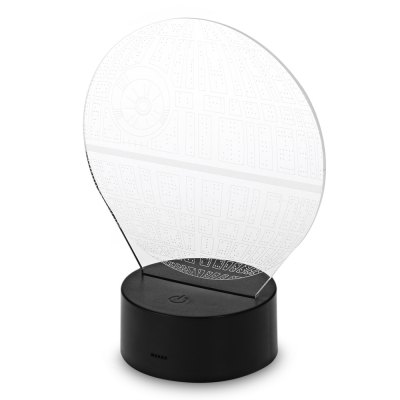 Acrylic Planet 3D Optical LED Illusion LampDecorative Lights<br>Acrylic Planet 3D Optical LED Illusion Lamp<br><br>Package Contents: 1 x Acrylic Sheet, 1 x Base, 1 x USB Charging Cable, 1 x English User Manual<br>Package size (L x W x H): 22.90 x 16.20 x 6.20 cm / 9.02 x 6.38 x 2.44 inches<br>Package weight: 0.2670 kg<br>Product size (L x W x H): 16.20 x 14.00 x 0.50 cm / 6.38 x 5.51 x 0.2 inches<br>Product weight: 0.0830 kg