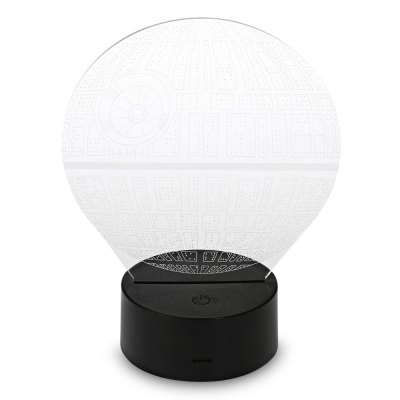 Acrylic Planet 3D Optical LED Illusion Lamp