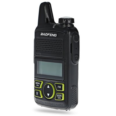 BAOFENG BF - T1 Walkie TalkieWalkie Talkie<br>BAOFENG BF - T1 Walkie Talkie<br><br>Adjacent Channel Power: - 65dB and less / - 60dB and less<br>Adjacent Channel Selectivity (wide/narrow): 65dB and more / 55dB and more<br>Antenna Impedance : 50 ohm<br>Audio Distortion: 5 percent<br>Audio Power: 1W<br>Brand: Baofeng<br>CTCSS/CTTCS Frequency Deviation (broadband/narrowband): 0.7 + / - 0.1KHz, 0.4 + / - 0.1KHz<br>Emission Current: 1000mA and less<br>Frequency Stability : + / - 2.5ppm<br>Frequency Step : 12.5 / 25KHz<br>Intermodulation (broadband/narrowband): 65dB and more / 60dB and more<br>Main Functions : CTCSS/DCS, Quiet Talk(QT), English voice prompt, Time-Out Timer (TOT), FM radio, VOX<br>Maximum Frequency Deviation (broadband/narrowband): 5KHz and less / 2.5KHz and less<br>Modulation Sensitivity: 8 - 12mV<br>Operating temperature : - 20 - 60 Deg.C<br>Output Power (high/low): 0.5 / 1W<br>Package Contents: 1 x BAOFENG BF - T1 Walkie Talkie, 1 x Battery, 1 x Earphone, 1 x Charger, 1 x USB Cable, 1 x Belt Clip, 1 x Lanyard, 1 x English User Manual<br>Package Dimension: 17.50 x 14.00 x 5.00 cm / 6.89 x 5.51 x 1.97 inches<br>Package weight: 0.2920 kg<br>Product Dimension: 5.50 x 1.80 x 10.80 cm / 2.17 x 0.71 x 4.25 inches<br>Product weight: 0.0980 kg<br>Receiveing Sensitivity (broadband/narrowband): 0.25uV ( at 12dB SINAD )<br>Special function: Flashlight<br>Spurious Power: 7.5uW and less