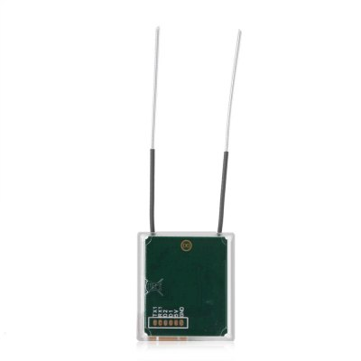 Scisky 2.4GHz 8-channel Mini Satellite ReceiverRadios &amp; Receiver<br>Scisky 2.4GHz 8-channel Mini Satellite Receiver<br><br>Package Contents: 1 x Receiver, 1 x 6-pin Cable<br>Package size (L x W x H): 12.00 x 8.00 x 1.60 cm / 4.72 x 3.15 x 0.63 inches<br>Package weight: 0.0400 kg<br>Product size (L x W x H): 2.30 x 2.60 x 0.60 cm / 0.91 x 1.02 x 0.24 inches<br>Product weight: 0.0040 kg<br>Type: Receiver