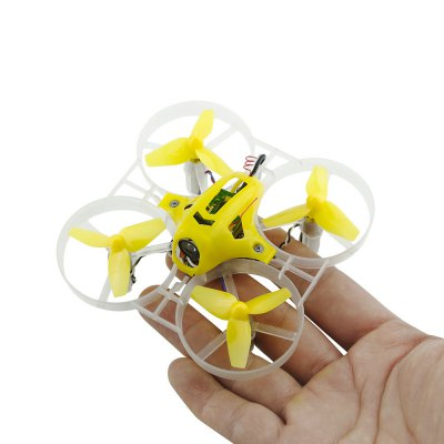 KingKong Tiny 7 75mm Mini Brushed FPV Racing Drone - RTFMicro Brushed Racer<br>KingKong Tiny 7 75mm Mini Brushed FPV Racing Drone - RTF<br><br>Battery (mAh): 500mAh<br>Battery Coulomb: 30C<br>Battery Voltage: 1S<br>Brand: KingKong<br>Channel: 6<br>Charging Time.: 15~20mins<br>Detailed Control Distance: About 1000m<br>Flight Controller Type: F3<br>Flying Time: 4~5mins<br>Mode: Mode 2 (Left Hand Throttle)<br>Model: 720<br>Motor Type: Brushed Motor<br>Package Contents: 1 x Drone, 1 x Transmitter, 3 x Body Shell, 12 x Spare Propeller, 1 x 3.7V 500mAh 30C LiPo Battery, 1 x 5-way USB Charger, 1 x Propeller Puller<br>Package size (L x W x H): 39.50 x 22.50 x 12.00 cm / 15.55 x 8.86 x 4.72 inches<br>Package weight: 1.1630 kg<br>Product weight: 0.0325 kg<br>Remote Control: 2.4GHz Wireless Radio Control<br>Transmitter Power: 4 x 1.5V AA (not included)<br>Type: Frame Kit<br>Video Resolution: 800TVL ( horizontal resolution )